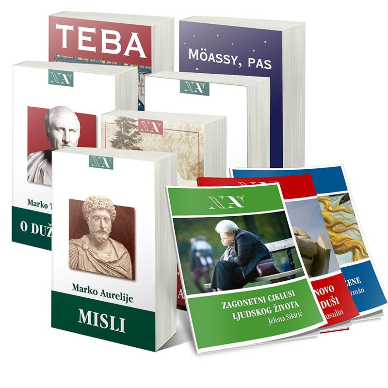 Knjige u izdanju Nove Akropole