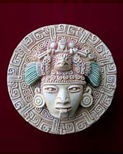 Astecka-maska