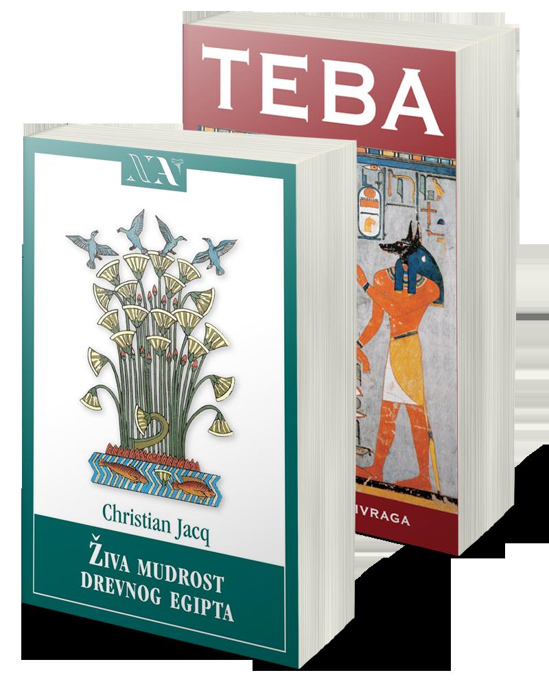 Komplet Živa mudrost drevnog Egipta i Teba